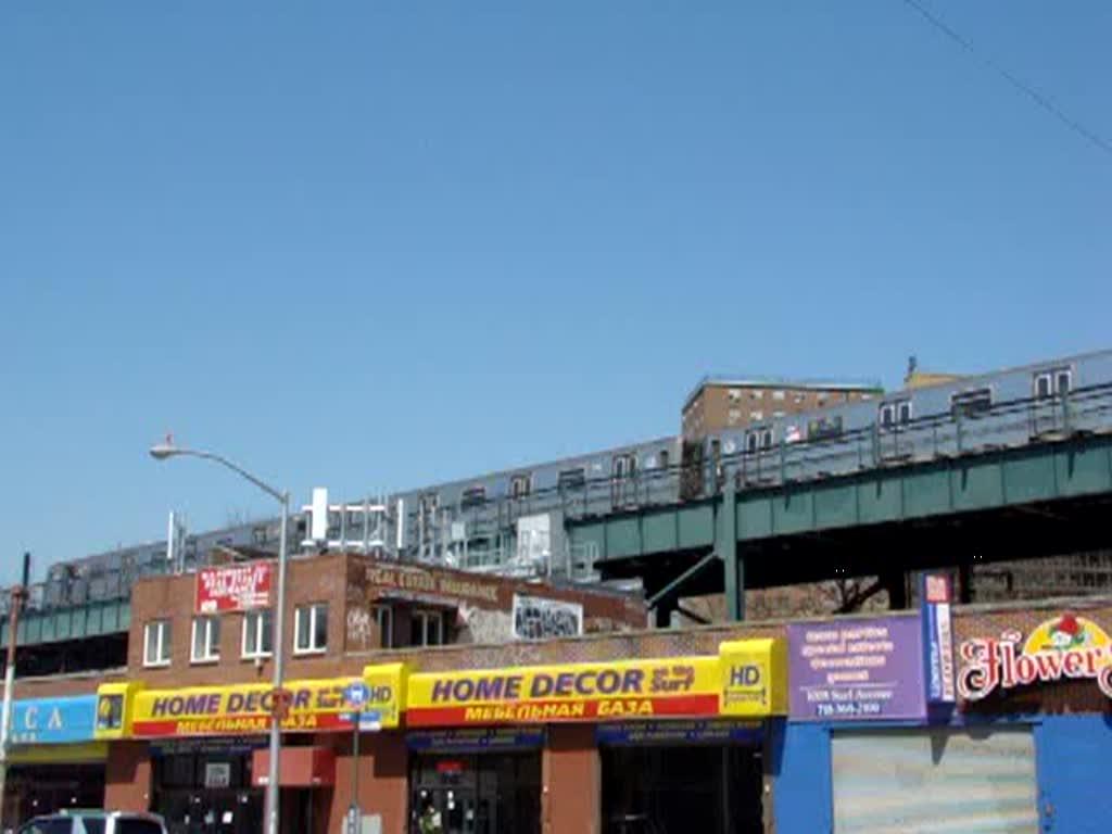 Auch bei der New Yorker Subway gibt es viele Abschnitte die ...