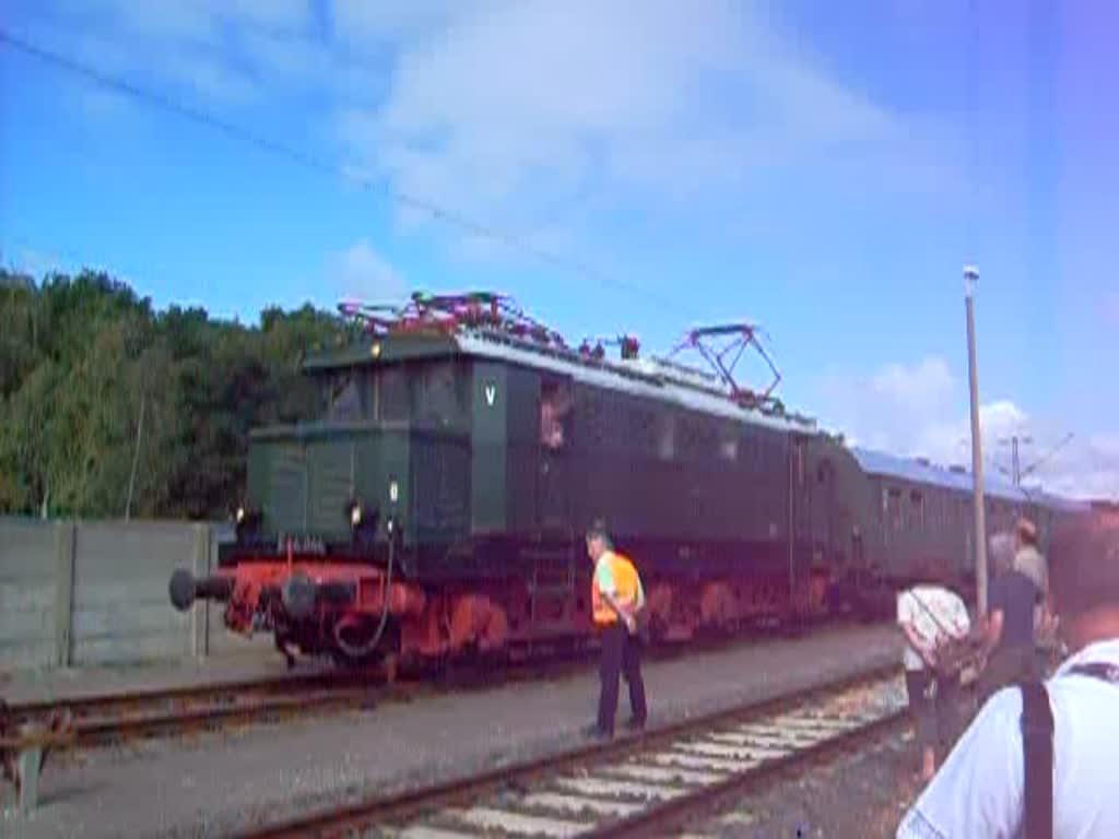 Der Pendelzug Vom Sfw Delitzsch Zum Bahnhof Delitzsch