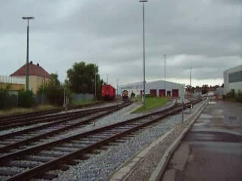 Die Class 66 Der Hgk Im Kempten Depot Beim Rangieren