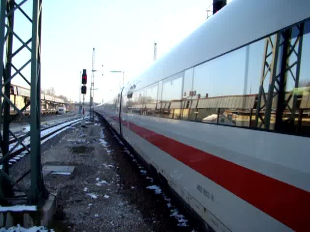 ice 1090 nach berlin s dkreuz hat am einfahrt in den bahnhof augsburg hauptbahnhof. Black Bedroom Furniture Sets. Home Design Ideas