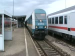 Ein Arriva Alex BR 223 in Kempten Hbf am 18.08.10