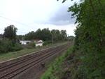 E 44 044 fuhr einen Sonderzug anlässlich 85 Jahre AW Dessau am 30.08.14. Hier zu sehen in Dessau Süd. der Zug fuhr von Dessau Hbf nach Bitterfeld und zurück.