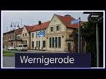 Eine Fahrt mit dem HarzElbeExpress von Wernigerode nach Halberstadt. Dort stehen mehrere Lint Triebwagen an den Bahnsteigen bereit und warten auf die Abfahrt in den Richtungen Magdeburg, Thale, Goslar, Halle, und Blankenburg. - 07.01.2015
