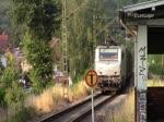 Akiem 37028 (Alstom Prima EL3U) mit einem Güterzug in St.Ingbert-Rentrisch den 17.07.2015