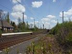 RBH 804 (275 804-9) verlässt nach dem Kopf machen den Rangierbereich in Recklinghausen-Ost 4.5.2016