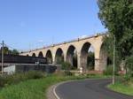 Wegen der Brückenbauarbeiten bei Tršnice, werden alle Züge über Františkovy Lázně nach Cheb zurück umgeleitet. Heute am 16.08.16 war der letzte Tag, hier 362 071-3 mit dem Sp 1694 in Cheb.
