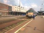 431-341 fährt mit einem Schnellzug aus Debrecen, 10.7.16