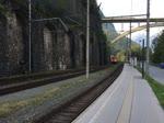 1116 091 & 1116 264 durchfahren gemeinsam den Bahnhof Imst-Pitztal mit einem Kontainerzug richtung Wien. Aufgenommen am 10.9.2016.