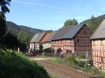 Am 25.09.16 fuhr wieder der Sormitztal-Express. Da die 41 1144 noch in Meiningen ist und die für die Fahrt vorgesehene 50er wohl auch defekt war, kam die 110 108-8 der Hörseltalbahn GmbH zum Einsatz. Wie ich fand war es eine sehr gute Entsc ...