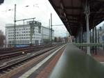 Durchfahrt einer 106 der ITL am Dresdner Hauptbahnhof in Richtung Heidenau. 24.02.2017