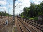 MRCE X4E-607 mit X4E-608 durchfahren Hamburg-Harburg 14.6.2017