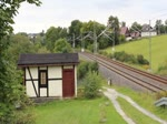 Am 17.09.17 fuhr die 204 311-5 MTEG (202 311-7)den Anti-Drogenzug REVOLUTION TRAIN von Vojtanov/Cz nach Saalfeld/Saale, wo der Zug vom 18.- 20.09.17 Station macht. Hier ist der Zug in Jößnitz/V. zu sehen. Gruß an den Tf zurück!