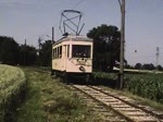 Fahrbetrieb bei der Florianerbahn anläßlich des Besuchs einer Reisegruppe der DGEG am 4. Juli 1981. (Neu digitalisierte Version. Die bisherige Fassung wurde 960 mal abgerufen.)