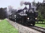 Fahrt für die DGEG mit 93.1455 über die Kamptalbahn am 4. Juli 1981.