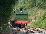 Lok #5541 der Dean Forest Railway beim Umsetzen in Parkend, 11.9.2016  Details zur Geschichte der Lok: http://www.dfrsociety.org/5541-2-2/