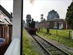 Abfahrt eines Dampfzugs mit Lok #5541 aus Lydney Town, 11.9.2016