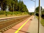 EP07-329 mit einem InterCity aus Kolobrzeg nach Katowice durch Przylep bei Zielona Gora, 8.07.2018