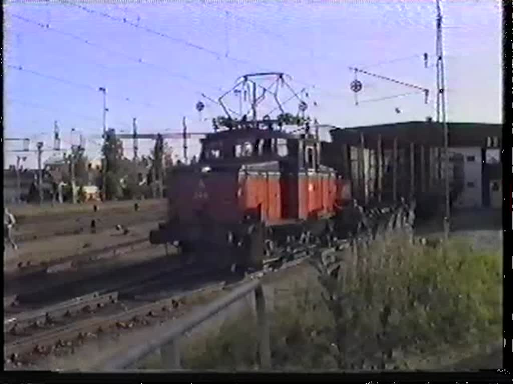 Uc 249 rangiert am 7. September 1992 in Vännäs.